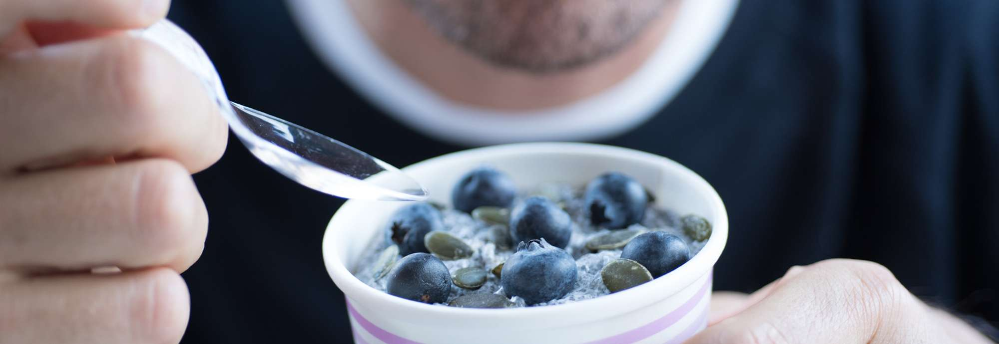 cojean blueberry porridge